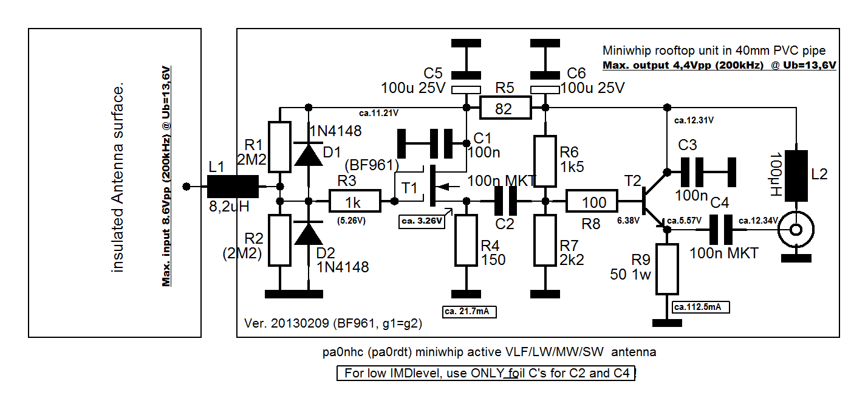 miniwhip active part schematic diagram